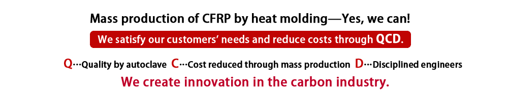 Mass production of CFRP by heat molding—Yes, we can!